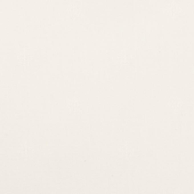 コットン×小紋(オフホワイト)×シーチングドビー イメージ1