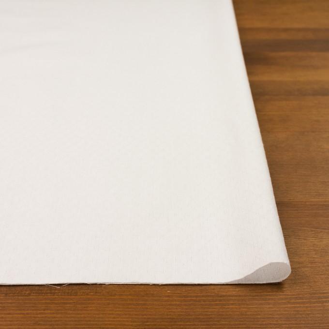 コットン×ダイヤ(オフホワイト)×シーチングドビー イメージ3