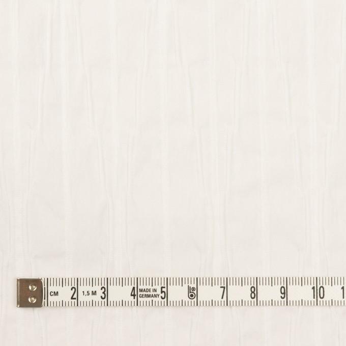 コットン&ナイロン混×無地(オフホワイト)×タテタック イメージ4