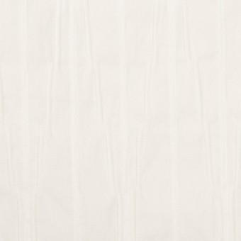 コットン&ナイロン混×無地(オフホワイト)×タテタック