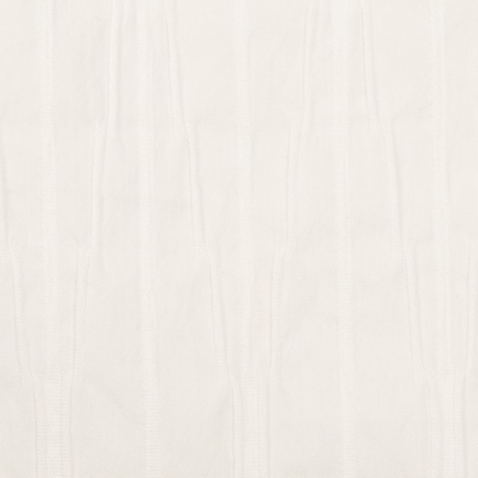 コットン&ナイロン混×無地(オフホワイト)×タテタック イメージ1