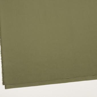 コットン&ポリウレタン×無地(カーキグリーン)×タイプライター(高密ローン)・ストレッチ_全4色 サムネイル2