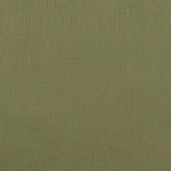 コットン&ポリウレタン×無地(カーキグリーン)×タイプライター(高密ローン)・ストレッチ_全4色