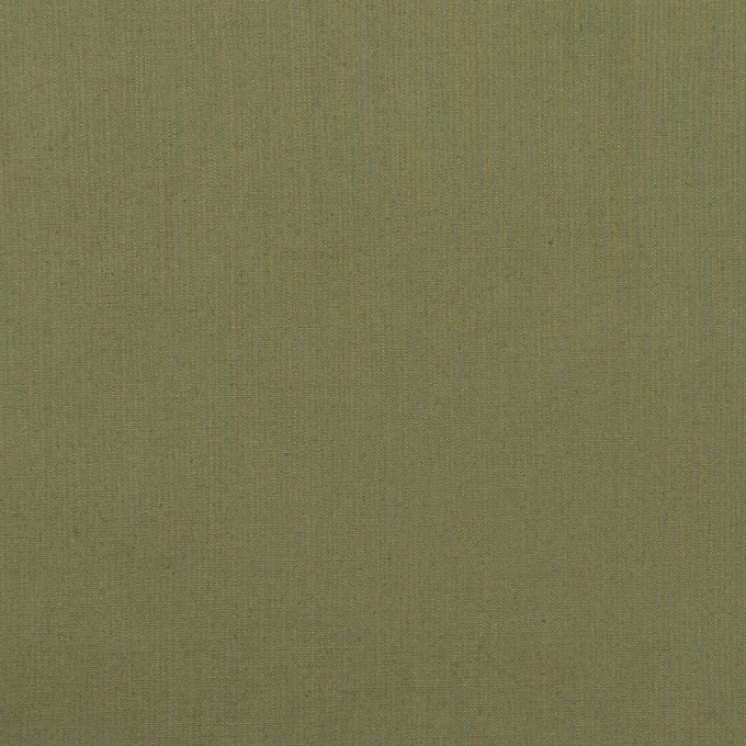 コットン&ポリウレタン×無地(カーキグリーン)×タイプライター(高密ローン)・ストレッチ_全4色 イメージ1