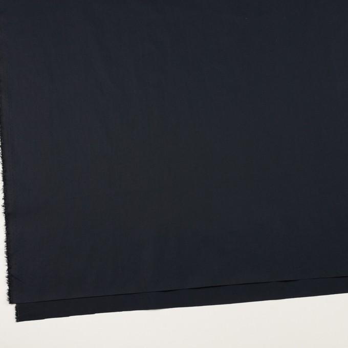 コットン&ポリウレタン×無地(ダークネイビー)×タイプライター(高密ローン)・ストレッチ_全4色 イメージ2
