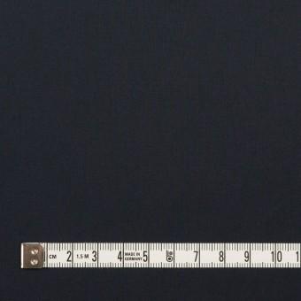 コットン&ポリウレタン×無地(ダークネイビー)×タイプライター(高密ローン)・ストレッチ_全4色 サムネイル4