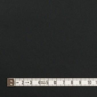 コットン&ポリウレタン×無地(ブラック)×タイプライター(高密ローン)・ストレッチ_全4色 サムネイル4