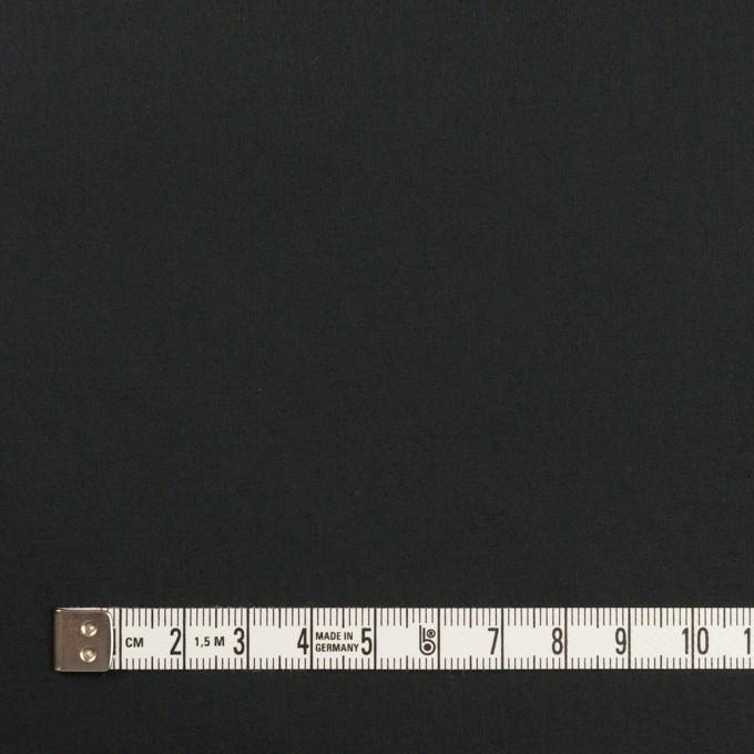 コットン&ポリウレタン×無地(ブラック)×タイプライター(高密ローン)・ストレッチ_全4色 イメージ4