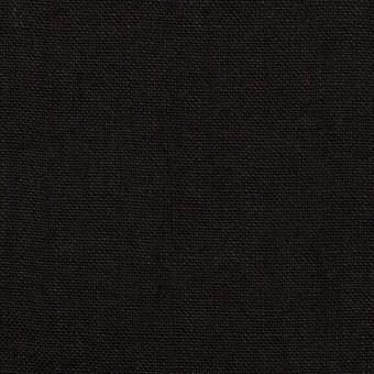 コットン&リネン×無地(ブラック)×キャンバス