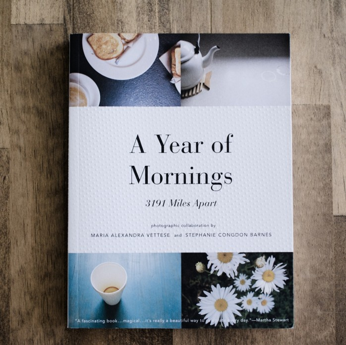 BOOK #001 A Year Of Mornings:3191 Miles Apart (MARIA