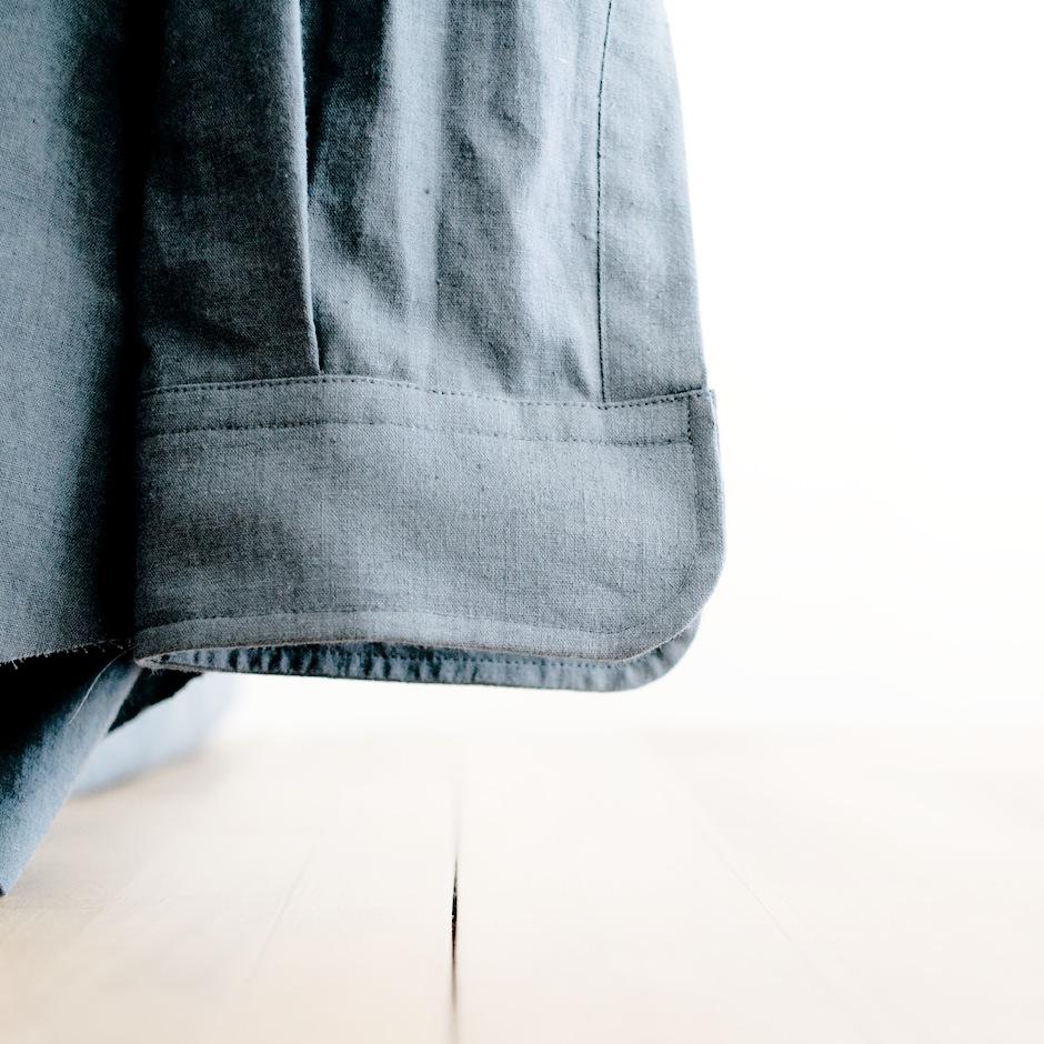カフスのついた袖