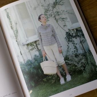 今日のコレコレ。#051 チェックのフードつきシャツ(「ガーゼで作る心地よい服」 櫻井悦子 著)