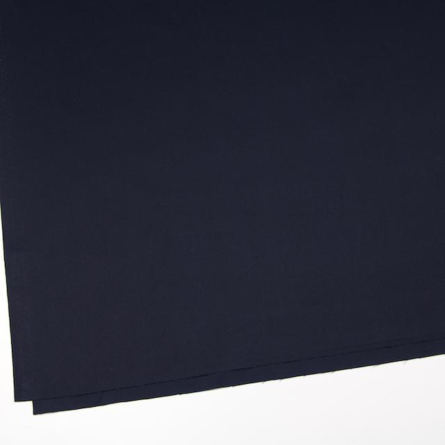 コットン×無地(ネイビー)×サージ_全6色(シリーズ1)