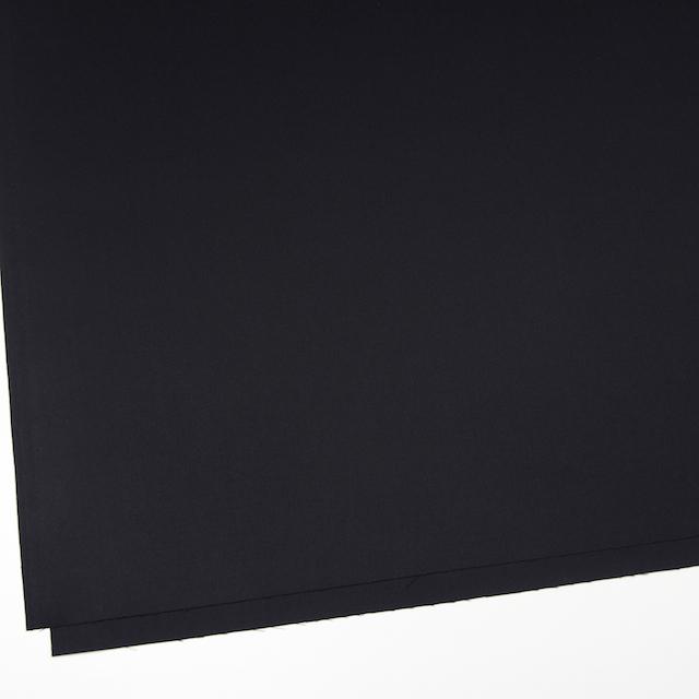 コットン×無地(ブラック)×サージ_全5色(シリーズ2)