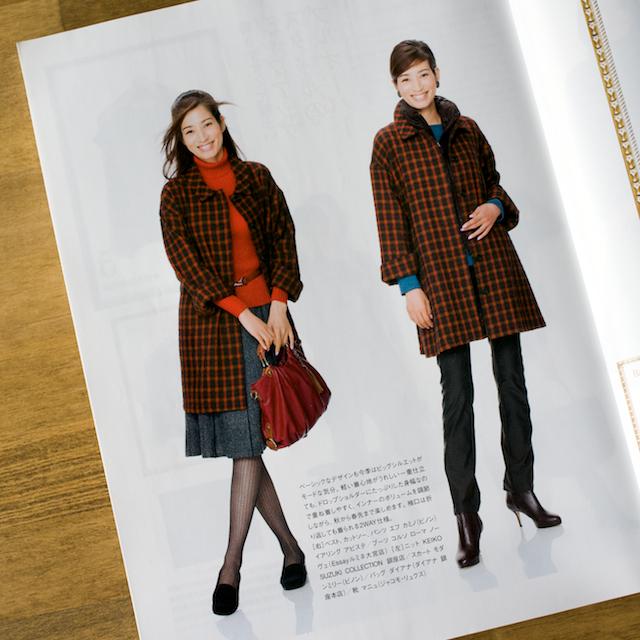 今日のコレコレ。#091 Aラインのハーフコート(「ミセスのスタイルブック2012年秋冬号」 文化出版局)