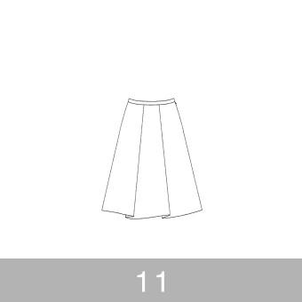 オリジナルパターン#007_タックスカート_11号