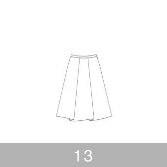 オリジナルパターン#007_タックスカート_13号