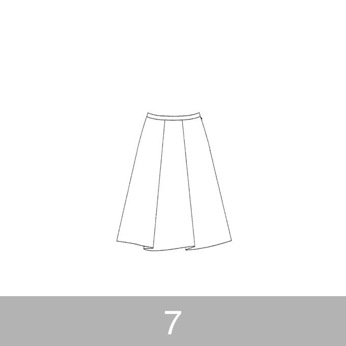 オリジナルパターン#007_タックスカート_7号 イメージ1