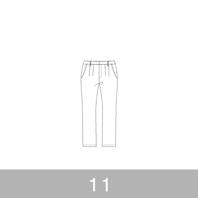 オリジナルパターン#012_テーパードパンツ_11号 イメージ1