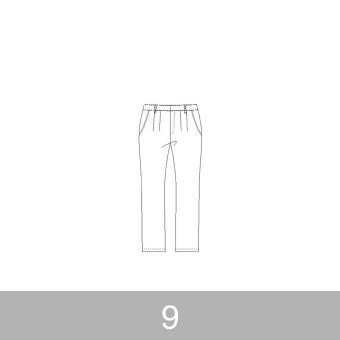 オリジナルパターン#012_テーパードパンツ_9号