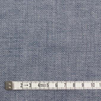 コットン×無地(ブルー)×かわり織&ガーゼ サムネイル4