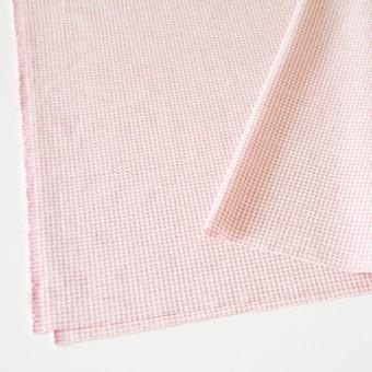 コットン×ギンガムチェック(ピンク)×シーチングリップル_全3色 サムネイル2