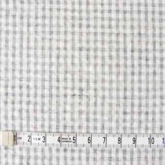 コットン×ギンガムチェック(ブルーグレー)×シーチングリップル_全3色 サムネイル4