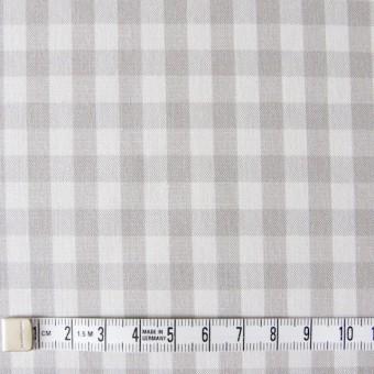 コットン×ギンガムチェック(ライトグレー)×ポプリン_全3色 サムネイル4