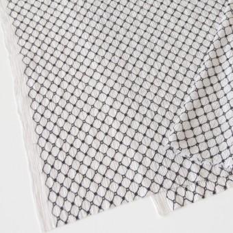 コットン×マトラッセ(ライトグレー)×ヨウリュウ刺繍 サムネイル2