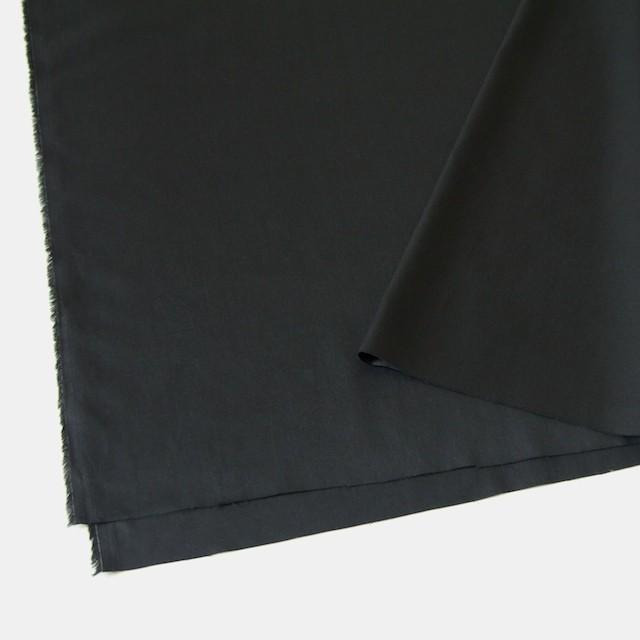 コットン×無地(ブラック)×サテン イメージ2