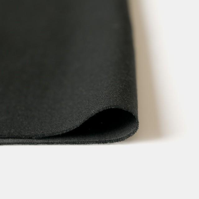 コットン×無地(ブラック)×サテン イメージ3