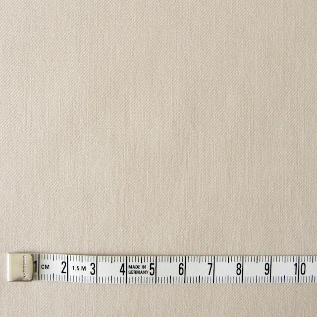 コットン×無地(アイボリー)×薄サージ_全5色 イメージ4