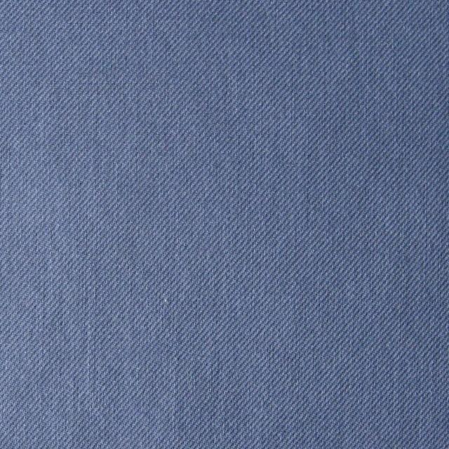 コットン×無地(サルビアブルー)×薄サージ_全5色 イメージ1