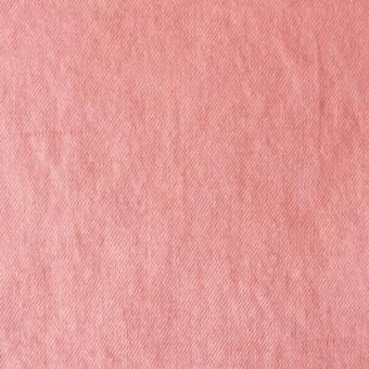 コットン&リネン×無地(ピーチ)×薄サージワッシャー サムネイル1