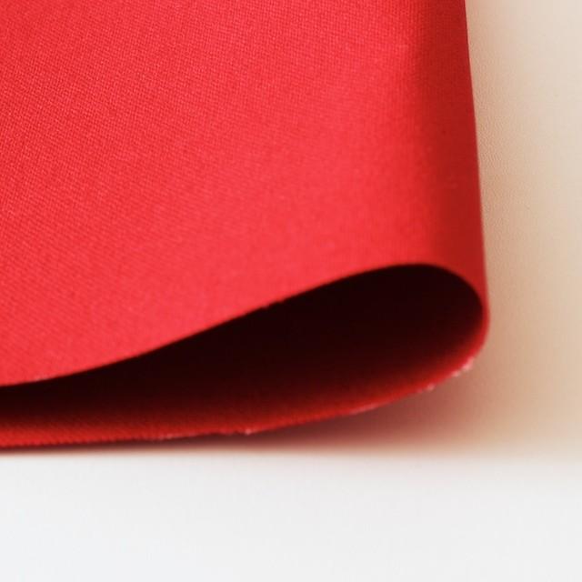 コットン×無地(レッド)×11号帆布ハード加工_全2色 イメージ3