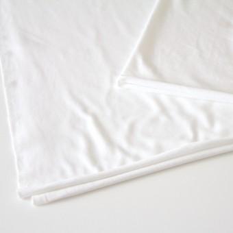 コットン×無地(ホワイト)×裏毛ニット サムネイル2