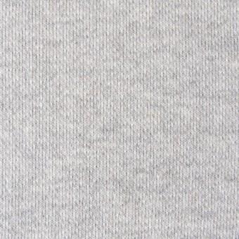コットン×無地(ライトグレー)×裏毛ニット サムネイル1