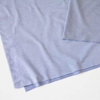 コットン×ピンストライプ(ブルー)×フライスニット_全2色 サムネイル2