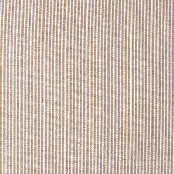 ポリエステル&コットン×ストライプ(ベージュ)×コードレーン_全2色 サムネイル1