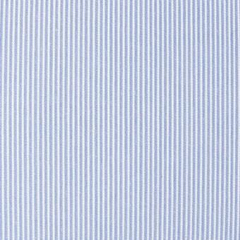 ポリエステル&コットン×ストライプ(サックス)×コードレーン_全2色 サムネイル1