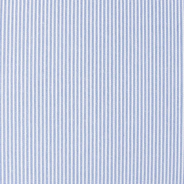 ポリエステル&コットン×ストライプ(サックス)×コードレーン_全2色 イメージ1