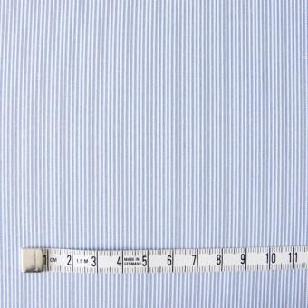 ポリエステル&コットン×ストライプ(サックス)×コードレーン_全2色 サムネイル4