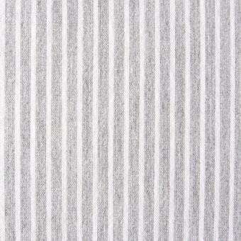 コットン混×ストライプ(ライトグレー)×ブロードストレッチ_全3色 サムネイル1