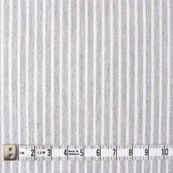コットン混×ストライプ(ライトグレー)×ブロードストレッチ_全3色 サムネイル4