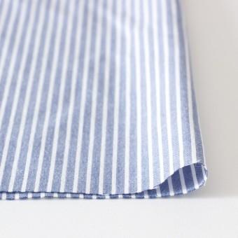 コットン混×ストライプ(ブルー)×ブロードストレッチ_全3色 サムネイル3