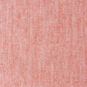 コットン&リネン混×無地(オレンジ)×ダンガリーストレッチ_全3色 サムネイル1