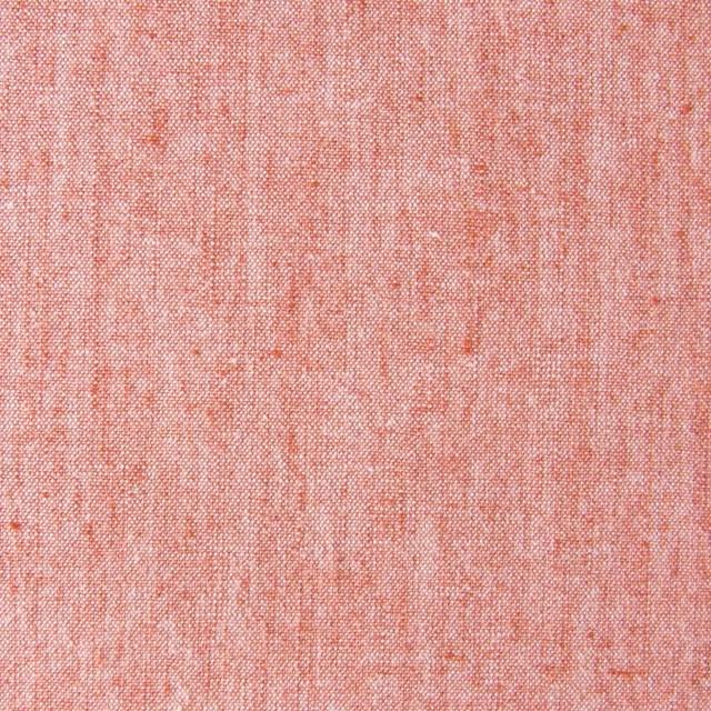 コットン&リネン混×無地(オレンジ)×ダンガリーストレッチ_全3色 イメージ1
