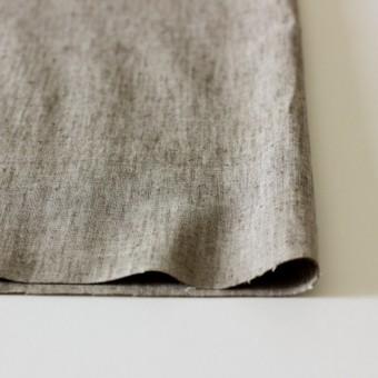 コットン&リネン混×無地(ブラウン)×ダンガリーストレッチ_全3色 サムネイル3