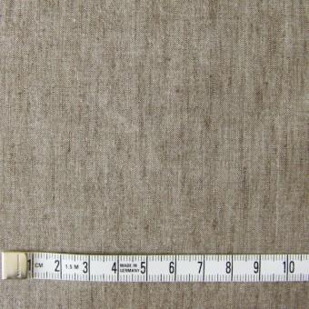 コットン&リネン混×無地(ブラウン)×ダンガリーストレッチ_全3色 サムネイル4