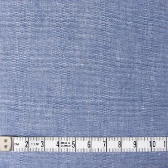コットン×無地(ブルー)×ダンガリー サムネイル4